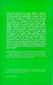 Palestine Chronique Des Evenements Courants 1988 .. - 4ème de couverture - Format classique