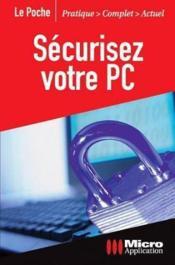 Securisez Votre Pc - Couverture - Format classique