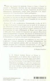 Rhumatismes Et Goutte - 4ème de couverture - Format classique
