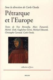 Pétrarque et l'europe - Intérieur - Format classique