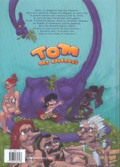 Tom des cavernes t.1 ; les papas terribles - 4ème de couverture - Format classique