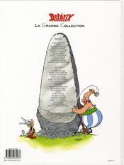Asterix t.28 ; Asterix chez Rahazade - 4ème de couverture - Format classique