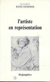 L'Artiste En Representation - Couverture - Format classique