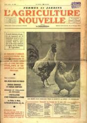 Agriculture Nouvelle (L') N°1833 du 13/06/1936 - Couverture - Format classique