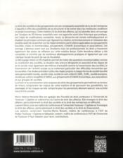 Droit des sociétés et des groupements (2e édition) - 4ème de couverture - Format classique