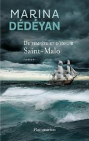 De tempête et d'espoir t.1 ; Saint-Malo - Couverture - Format classique