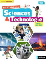 Vente  PANORAMAS ; mes 60 missions en sciences & technologie ; CM1-CM2 ; programme 2016  - Collectif