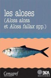 Les aloses (Alosa alosa et alosa fallax spp.) - Couverture - Format classique