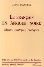 Le français en Afrique noire - Intérieur - Format classique