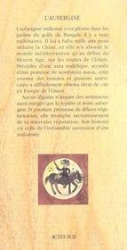 L'Aubergine - 4ème de couverture - Format classique