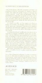 1986 - 4ème de couverture - Format classique