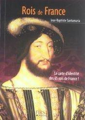 Le Petit Livre ; Rois De France - Intérieur - Format classique