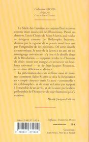 Lettre A Un Ami - 4ème de couverture - Format classique