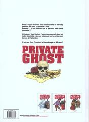 Private ghost t.3 ; hot caribbean rainbow - 4ème de couverture - Format classique
