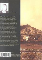 Les châteaux d'eau - 4ème de couverture - Format classique