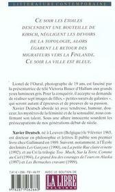Victoria bauer - 4ème de couverture - Format classique