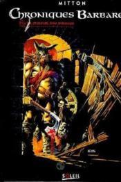Chroniques barbares t.1 ; la fureur des vikings - Couverture - Format classique
