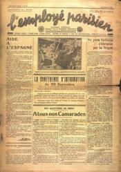 Employe Parisien (L') N°10 du 01/09/1936 - Couverture - Format classique
