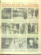 Dimanche Illustre N°136 du 04/10/1925 - Couverture - Format classique