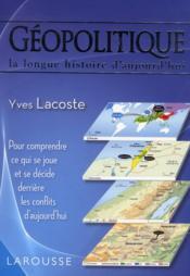 Géopolitique - Couverture - Format classique