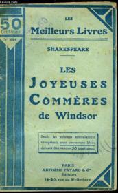 Les Joyeuses Commeres De Windsor - Couverture - Format classique