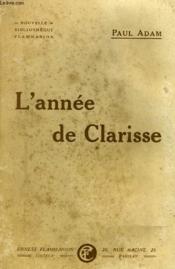 L'Annee De Clarisse. - Couverture - Format classique