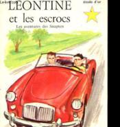 Les Aventures Des Snapten - Leontine Et Les Escrocs - Couverture - Format classique