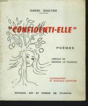 Confidenti-Elle. Poemes - Couverture - Format classique