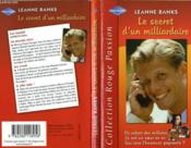 Le Secret D'Un Milliardaire - The Millionaire'S Secret Wish - Couverture - Format classique