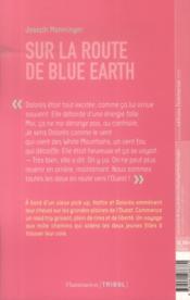 Sur la route de blue earth - 4ème de couverture - Format classique