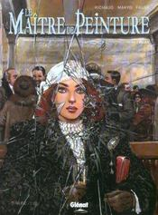 Le maître de peinture t.1; Eliza - Intérieur - Format classique