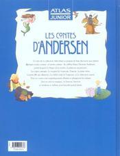 Les contes d'Andersen - 4ème de couverture - Format classique