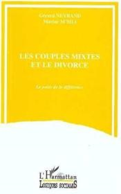 Couples Mixtes Et Le Divorce - Couverture - Format classique