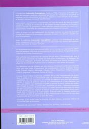 Dictionnaire de droit international public - 4ème de couverture - Format classique