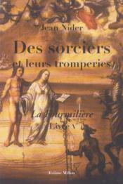 Sorciers Et Leurs Tromperies (Des) - Couverture - Format classique