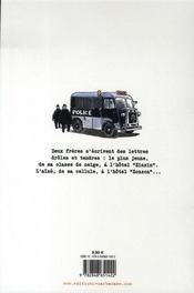 Frérot frangin - 4ème de couverture - Format classique