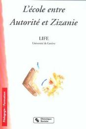 Ecole Entre Autorite Et Zizanie - Intérieur - Format classique