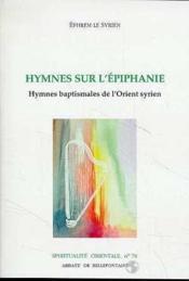 Hymnes Sur L'Epiphanie - Couverture - Format classique