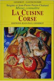 La cuisine corse - Couverture - Format classique