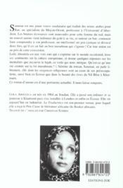 Traductrice (La) - 4ème de couverture - Format classique