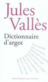 Dictionnaire d'argot - Intérieur - Format classique