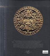 Les azteques ; tresors d'une civilisation ancienne - 4ème de couverture - Format classique
