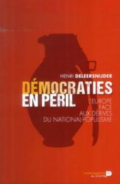 Démocraties en péril - Couverture - Format classique