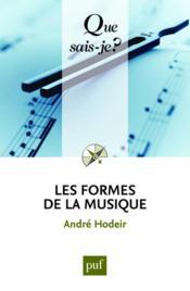Les formes de la musique (16e édition) - Couverture - Format classique