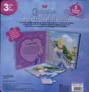 Mon Premier Livre Puzzle ; Cendrillon - 4ème de couverture - Format classique