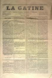 Gatine (La) N°3 du 19/03/1870 - Couverture - Format classique