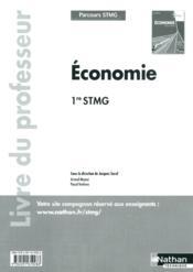 Economie 1e Stmg (Parcours Stm - Couverture - Format classique
