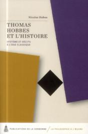 Thomas Hobbes Et L'Histoire - Couverture - Format classique