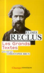 Les grands textes - Couverture - Format classique