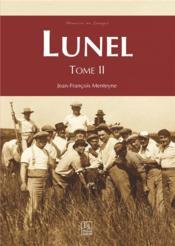 Lunel t.2 - Couverture - Format classique